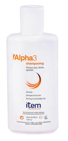 Item Alpha 3 Шампунь для сухого пошкодженого волосся 200 мл 1 флакон