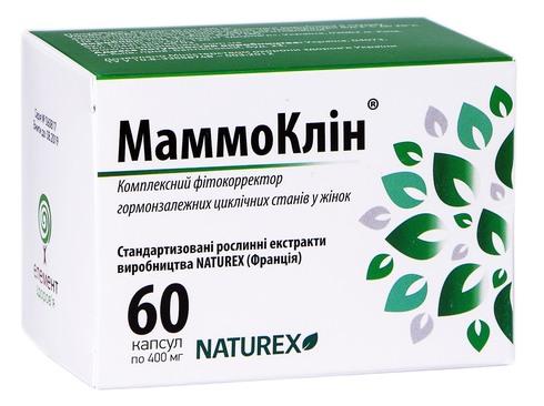 МаммоКлін капсули 400 мг 60 шт