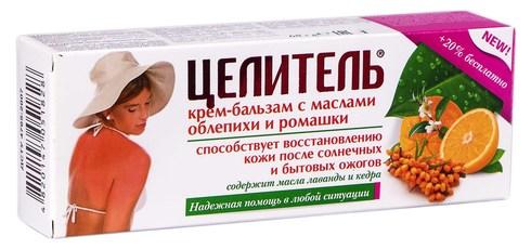 Цілитель з оліями обліпихи і ромашки крем-бальзам 68 г 1 туба