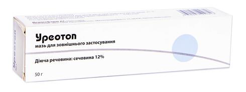 Уреотоп мазь 12 % 50 г 1 туба
