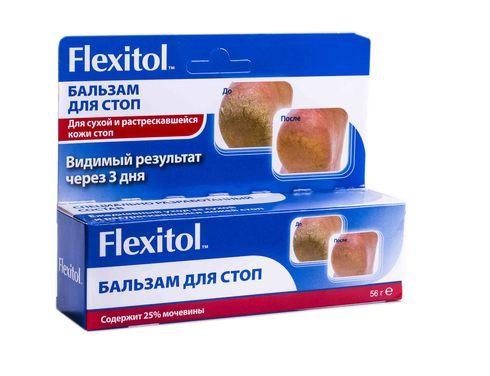 Флексітол для стоп бальзам 56 г 1 туба