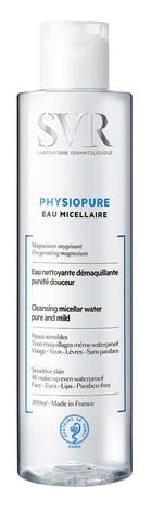 SVR Physiopure Міцелярна вода для чутливої шкіри 200 мл 1 флакон