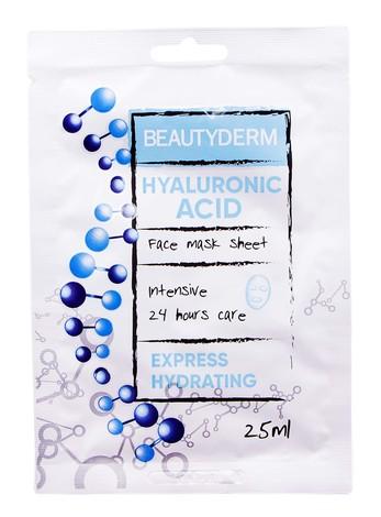 Beautyderm Маска інтенсивна для обличчя Гіалуронова кислота 25 мл 1 пакет