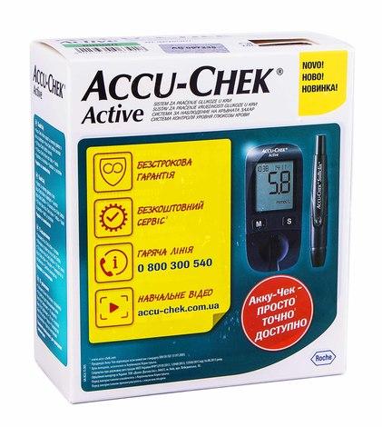 Accu-Chek Active Актив Глюкометр 1 шт