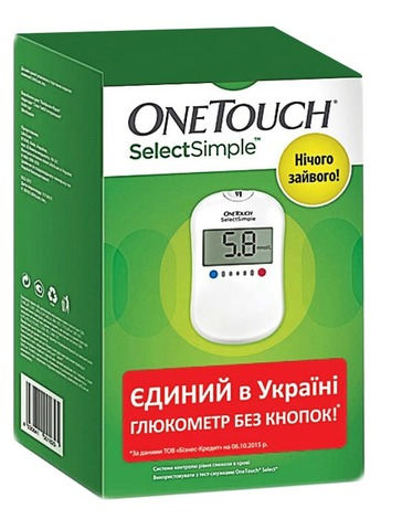 OneTouch Select Simple Глюкометр 1 шт