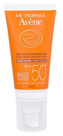 Avene Сонцезахисний тональний крем для чутливої шкіри SPF-50+ 50 мл 1 туба
