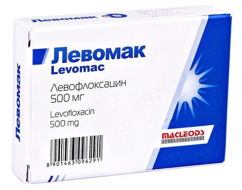 Левомак таблетки 500 мг 5 шт