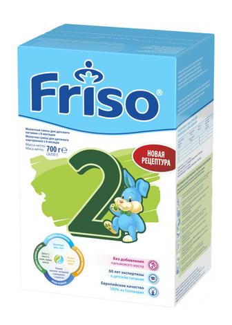 Friso 2 Фрісолак Суміш молочна з 6 до 12 місяців 700 г 1 коробка