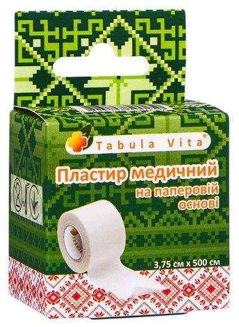 Tabula Vita Пластир медичний на паперовій основі 3,75х500 см 1 шт
