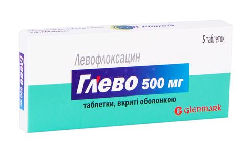 Глево таблетки 500 мг 5 шт