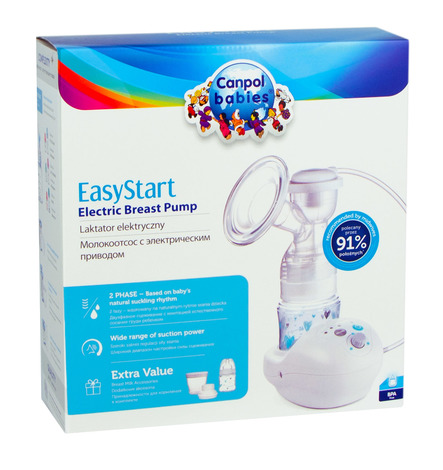 Canpol Babies EasyStart Молоковідсмоктувач електричний 12/201  1 шт