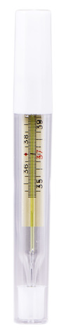 Термометр медичний максимальний скляний ГОСТ 302-79 1 шт