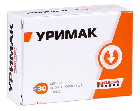 Уримак капсули 0,4 мг 30 шт
