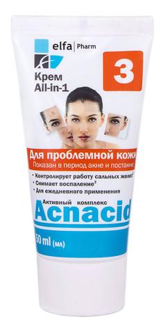 Acnacid Крем All-in-1 для проблемної шкіри 50 мл 1 туба