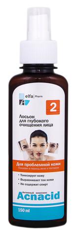 Acnacid Лосьйон для глибокого очищення обличчя для проблемної шкіри 150 мл 1 флакон