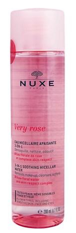 Nuxe Very Rose Міцелярна вода 3-в-1 зволожуюча 200 мл 1 флакон