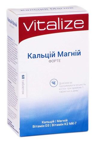 Кальцій Магній Форте таблетки 60 шт