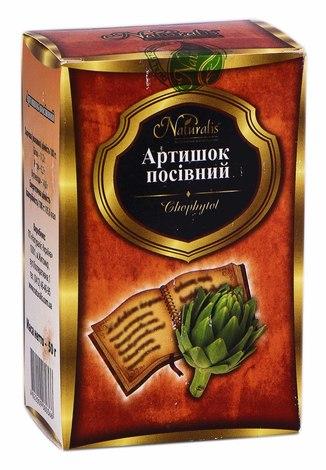 Naturalis Артишок посівний фіточай 50 г 1 пачка