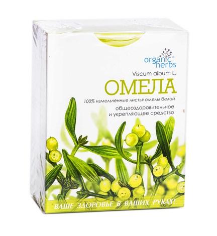 Organic Herbs Омела Біла 50 г 1 пачка
