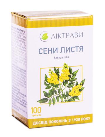 Сени листя Ліктрави гранули 100 г 1 пачка