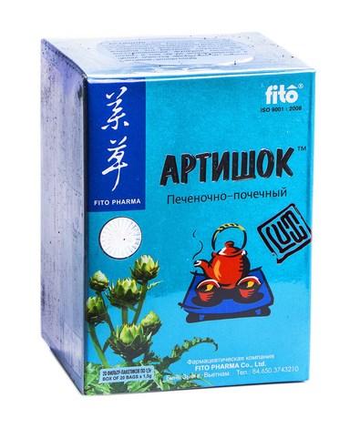 Fito Pharma Фіточай Артишок 1,5 г 20 фільтр-пакети