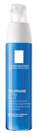 La Roche-Posay Toleriane Ультра Заспокійливий нічний засіб для шкіри обличчя та контуру очей 40 мл 1 флакон