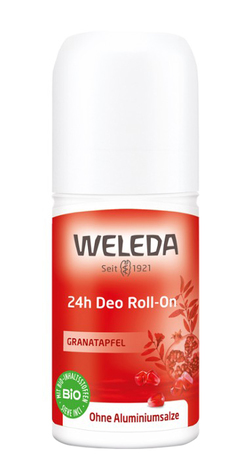 Weleda Дезодорант Гранат Roll-On 24 години 50 мл 1 флакон