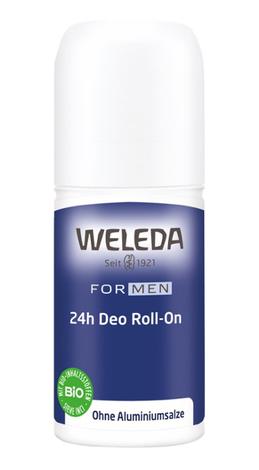 Weleda Дезодорант для чоловіків Roll-On 24 години 50 мл 1 флакон