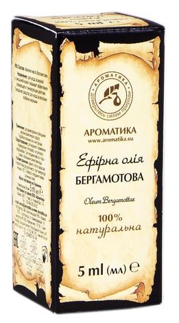 Ароматика Олія ефірна бергамотова 5 мл 1 флакон