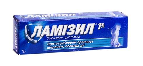 Ламізил крем 1 % 15 г 1 туба