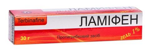 Ламіфен гель 1 % 30 г 1 туба