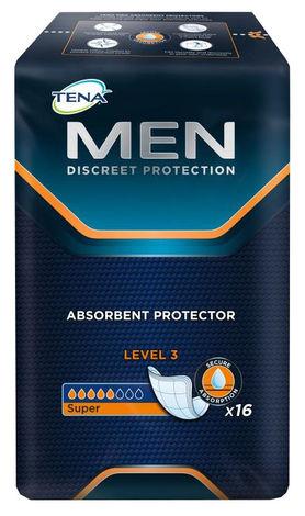 Tena Men Level 3 Прокладки урологічні чоловічі 16 шт