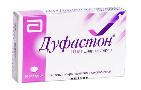Дуфастон таблетки 10 мг 14 шт