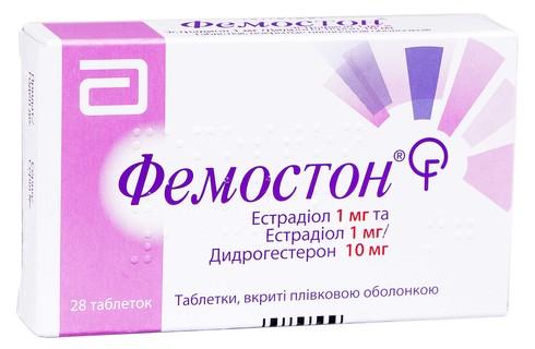 Фемостон таблетки 1 мг/10 мг  28 шт