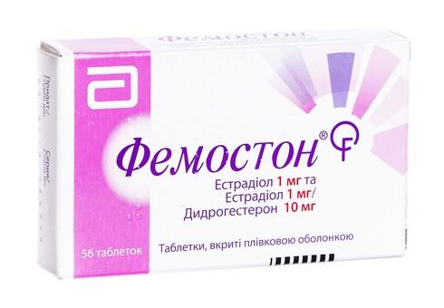 Фемостон таблетки 1 мг/10 мг  56 шт