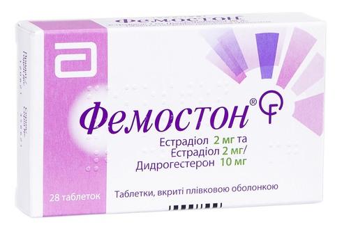 Фемостон таблетки 2 мг/10 мг  28 шт