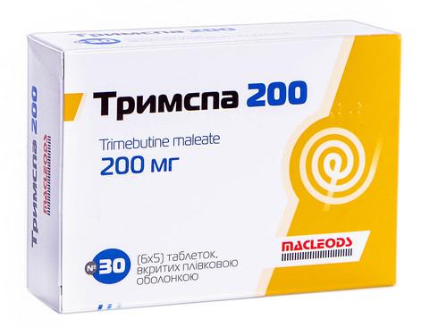 Тримспа таблетки 200 мг 30 шт