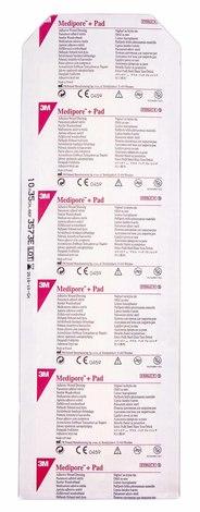 3M Медіпор Пов'язка адгезивна для закриття ран 10х35 см 1 шт