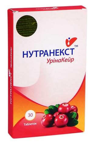 Нутранекст УрінаКейр таблетки 30 шт
