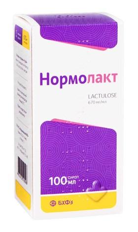 Нормолакт сироп 670 мг/мл 100 мл 1 флакон