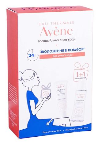Avene Hydrance Rich крем 40 мл + міцелярний лосьйон 100 мл 1 набір