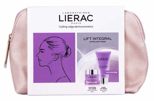 Lierac Lift Integral крем-ліфтинг моделюючий 50 мл + маска-ліфтинг миттєвої дії 75 мл 1 набір