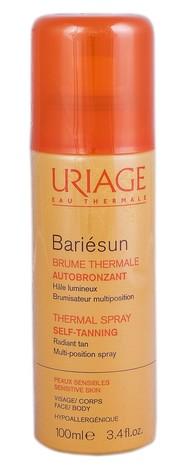 Uriage Bariesun Термальний спрей автобронзат 100 мл 1 флакон