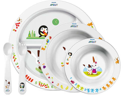 Avent Philips Набір дитячий столовий з 6 місяців SCF716/00 1 шт