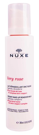 Nuxe Very Rose Делікатне молочко для зняття макіяжу 200 мл 1 флакон