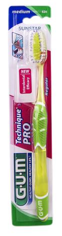 Gum Technique Про Фул Зубна щітка середньо-м'яка 1 шт