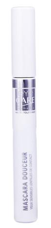 Eye Care Cosmetics Туш ніжна  для чутливих очей, колір чорний 6 г 1 шт