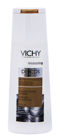 Vichy Dercos Шампунь-крем живильно-відновлювальний для сухого та пошкодженого волосся 200 мл 1 флакон