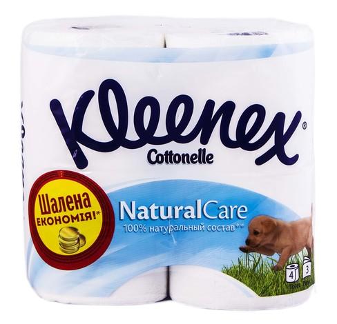 Kleenex Папір туалетний 3-х шаровий 4 шт
