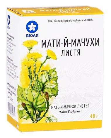 Мати-й-мачухи листя Віола 40 г 1 пачка